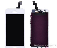 For Apple iPhone LCD Screen Panels  Wholesale - Front Assembly LCD Display Digitizer Touch Screen Replacement Part for iphone 5C 5S Black White