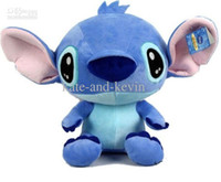 Unisex 0-12 Months Video Games Wholesale - Super cute plush toy doll mini Stitch interstellar stuffed toy baby loves most 20cm free shipping