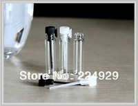 Glass Refillable Bottles OEM Fedex Free shipping,1ml mini glass perfume vial, perfume sample vial, tester bottle