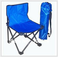 Wholesale Brand New Size Portable Folding Oxford Antiskid Fishing Chair Beach Stool Chair With Carried Bag