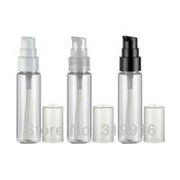 Plastic Refillable Bottles PET Free shipping 30ml transparent beak-bottle travel small cream lotion pump pet bottles for cosmetic packaging 100pc lot