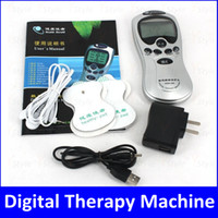 Biological Therapy digital therapy machine - Acupuncture Digital Therapy Machine Body Massager with LCD Screen Slimming Massager USB AC Charger Chinese English Dual Language