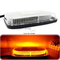 Wholesale New design LEDs Strobe Emergency Warning Light LED Strobe Light Bar Waterproof Magnet Amber LED lightbar