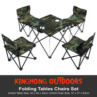 Wholesale Fashion beach chair Durable Outdoor Sports for outdoor furniture Folding furniture Tables Chairs Set CN shipping By EMS