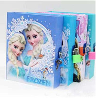 Wholesale 2014 Newhot Arrival Hot Anime Frozen Toys Frozen Princess Elsa Anna Daily Notebook Gifts for Girls