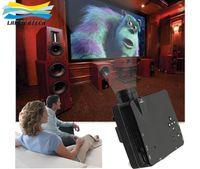 Wholesale MINI Portable Projector HDMI Projector Home Theater LZ H80 Support AV VGA USB SD HDMI Multimedia Lumens HD Projector