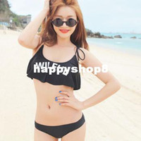 Body Suits Women Nylon Free shipping New authentic Korean stylenanda flounced WILFUL bikini sexy swimsuit hot springs