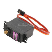 Electric 2 Channel 1:4 1pcs MG996R Metal Gear Digital Torque Servo with Gears and Parts for RC Car K5BO