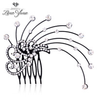 Cheap Other wedding hair comb Best gold white black rose gold Without borders hair jewelry accessories