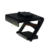 For Xbox   Plastic Kinect 2.0 Sensor TV Clip Mount Holder for Xbox One - Black -free shipping New 2014 sku#2200975-Retail