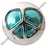 Wholesale B00143 noosa heart shape enamel mm mini snap button chunk for mm leather bracelet ladies fashion jewelry