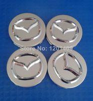 Wholesale 4pcs MM Wheel center hub caps covers wheel center caps Fits for MAZDA CX CX CX RX8