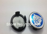 Wholesale mm Blue Jaguar wheel center hub caps wheel center covers badge emblem
