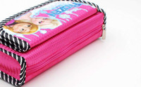 Wholesale Frozen Elsa Anna Canvas Cosmetic Bags handbag girl lady Pencil Bag Cosmetic Bags Coin Purse cm cm cm