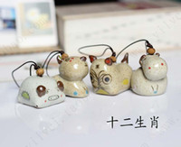 Cheap Creative Zodiac pendant handmade ceramic package of traditional Chinese style special wholesale jewelry manufacturersnew 2014 free shipping