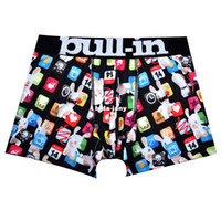 cheap underwear - Online Stock Cheap Brand Pull In Hot Sale New Arrival Sexy Men Spandex Cotton Underwear Boxers Shorts