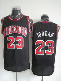 Wholesale Bulls Basketball Jerseys Chicago Jordan Black Basketball Apparel Highest Quality Athletic Apparel Profession Outdoor Uniform