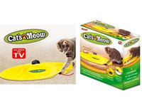 Wholesale 60pcs Cat s Meow Cat toy undercover mouse electronic cat toy cat training tool speed button