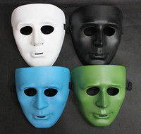 Wholesale 200pcs Fashion BBOY mask Hip hop masks JabbaWockeeZ Ghost dance step mask