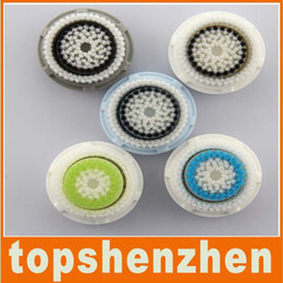 Wholesale Ultrasonic cleansing brush heads for Acne wash brush heads amp Cap Replacement Brush heads