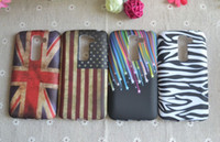 For LG TPU  flower butterfly UK USA Flag Star Jelly fish zebra lotus soft tpu case cover for LG G2 mini D618 D620 50PCS 100PCS DHL