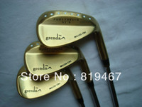 Wholesale New golf clubs Grenda D8 wedge gold color RH set