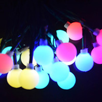 Wholesale New Year Solar Powered LED String Lamp Fairy Lights Cristmas Christmas Decoration Lights For Garden Outdoor