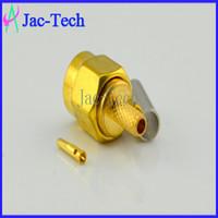Wholesale 100pcs SMA male crimp for RG58 cable