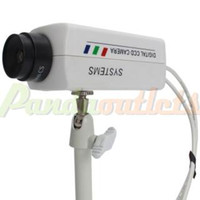 Wholesale Dummy Camera Rotation Surveillance Gun Style White Retail