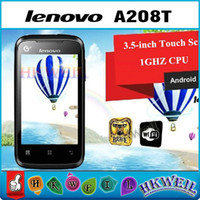 Lenovo A208T Single Sim Single Core Cell Phones Android2. 3 W...