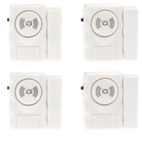 Wholesale Smart Home Security Entry Alarm Warning System with Magnetic Sensor for Door Window detector alarme wireless siren S235