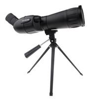 Top Quality 20-60x60 telescopio monoculare dello zoom Mono con la versione portatile del treppiedi di visione notturna Cannocchiale per caccia di campeggio H10880