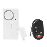 Wholesale Door Window Remote Control Smart Home Security Alarm Warning System with Magnetic Sensor Alarm Wireless Siren Detector Alarme S237