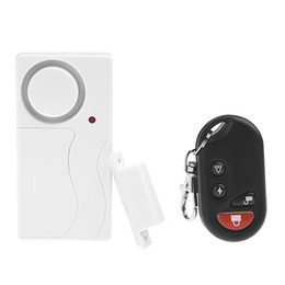 Wholesale Door Window Remote Control Smart Home Security Alarm Warning System with Magnetic Sensor Alarm Wireless Siren Detector Alarme S237