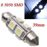 Wholesale 10pcs SMD LED mm V Led Car Bulb Interior Dome Festoon White Bulb Light Lamp Led Car Parking Light Brake Led Lamp K528