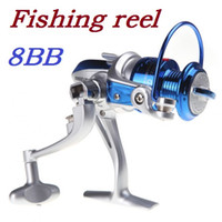 Cheap High quality 8BB Ball Bearings Left Right Interchangeable Collapsible Handle Fishing Spinning Reel ST2000 5.1:1 Dropshipping