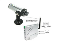 Wholesale 2 GHz wireless Audio Video Receiver DVR Inch CMOS Security video Surveillance CCTV Camera System