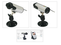 Wholesale 2 GHz Wireless Audio Video Receiver DVR Inch CMOS security Surveillance video cctv cameras system By DHL