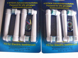 Wholesale Electric toothbrush heads EB17 flexisoft SB A toothbrush heads Replacement brush pack by DHL