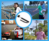 Wholesale 2 in Camera Tripod Extendable Handheld Camera Monopod with cellphone holder for iPhone Samsung HTC Digital Camera