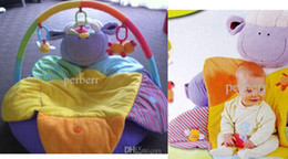Wholesale In stock purple sheep ELC Blossom Farm Sit Me Up Cosy Baby Seat Play MatPlay Nest Sofa