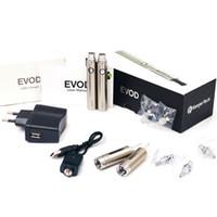 Double Multi Plastic Genuine Original Kanger double evod battery MT3 Kit Kanger EVOD starter kit Evod kit with 2 Evod BCC Atomizer and 2 Evod Battery DHL
