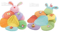 Wholesale Baby Seat In Stock Fast Shipment ELC Blossom Farm Sit Me Up Cosy Baby Seat Play Mat Come With Pump Play Nest Sofa Baby g