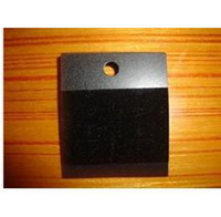 Wholesale NO LOGO Black Plastic With Velvet Card Ear Hooks Earring Display Cards x43mm Cheap Jewelry Card BC001