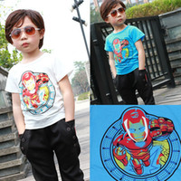 Unisex Summer Standard 2014 New Children Baby Kids Clothing Tees Cool Cartoon Baby Boys T Shirts For Summer Children Outwear Baby Tops 3-7 Year SF06-21