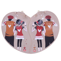 Wholesale Love couple pairs hot water bottle hot water bottle Hand Po warm winter cold lover