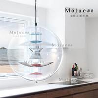 Wholesale Mount Italian Grand Nordic style incandescent light bulbs acrylic glass bubble chandelier H super cosmic philosophy