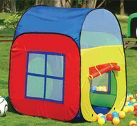 Tents Animes & Cartoons Polyester Outdoor Toys Baby Game House Two-door Breathable Little 30 Ocean Ball Toy Children's Play Kids Tent For Child