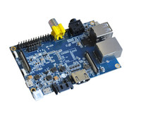 Wholesale Banana Pi Made in China GB RAM DDR3 like Raspberry Pi Model Module Board Made in China w Acrylic Case