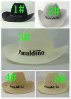 Wholesale Hot Sales colors Men s summer straw hat western Cowboy hat Large brimmed hat Large brim hat Beach hat Jazz hat